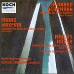 Waxman: Sinfonietta for String Orchestra & Timpani/Rozsa: Andante for String Orchestra and Concerto for Sring Orchest