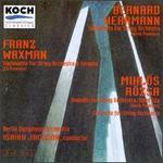 Waxman: Sinfonietta for String Orchestra & Timpani/Rozsa: Andante for String Orchestra and Concerto for Sring Orchest