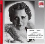 Tiana Lemnitz sings Mozart, Weber, Tschaikowsky and More