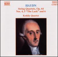 Haydn: String Quartets, Op. 64, Nos. 4-6 - Kod�ly Quartet