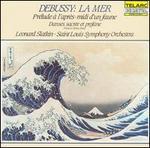 Debussy: La Mer; PrTlude a l'aprFs-midi d'un faune; Danse sacrTe et profane