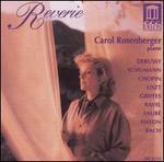 Reverie: Carol Rosenberger