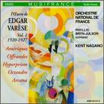Edgar Var?se Vol. 1, 1920-1927