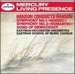 Symphonies 1, 2; Song of Democracy