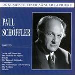 Dokument einer SSngerkarriere: Paul Sch�ffler