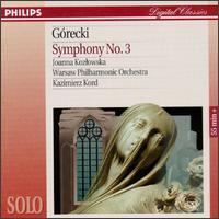 "Gorecki: Symphony No. 3 ""Symphony of Sorrowful Songs"" - Joanna Kozlowska (soprano); Warsaw Philharmonic Chamber Orchestra"