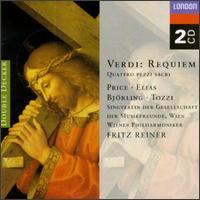 Verdi: Requiem - Giorgio Tozzi (bass); Jussi Bj�rling (tenor); Leontyne Price (soprano); Rosalind Elias (mezzo-soprano);...