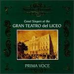 Great Singers at Gran Teatro Del Liceo / Various