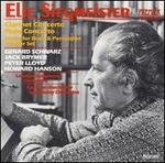 Elie Siegmeister: Clarinet Concerto; Flute Concerto; Sextet for Brass & Percussion; Theater Set