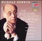 Rudolf Serkin: The Legendary Concerto Recordings 1950-1956