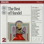 The Best of Handel - Academy of St. Martin-in-the-Fields; Alexandre Lagoya (guitar); AndrT PTpin (flute); Berlin Radio Symphony Orchestra; Concerto Amsterdam; Daniel Chorzempa (organ); English Baroque Soloists; Heinz Holliger (oboe); I Musici; Ida Presti (guitar)