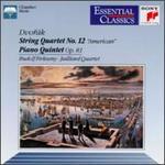 Dvor�k: String Quartet No.12; Piano Quintet