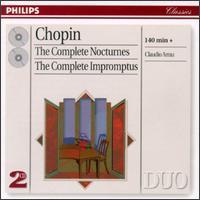 Chopin: The Complete Nocturnes And Impromptus - Claudio Arrau (piano)