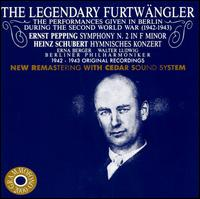 The Legendary Furtw�ngler: Performances in Berlin during the Second World War - Berlin Philharmonic Orchestra; Berlin Philharmonic Orchestra (choir, chorus)