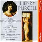Purcell: Music for the Funeral of Queen Mary Z860; Hail, bright Cecilia Z328; Motets