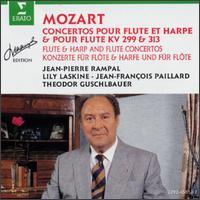 Mozart: Flute & Harp Concertos KV 299 & 313 - Jean-Pierre Rampal (flute); Lily Laskine (harp); Vienna Symphony Orchestra; Jean-Fran�ois Paillard Chamber Orchestra