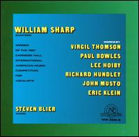 William Sharp - Steven Blier (piano); William Sharp (baritone)