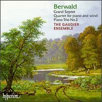 Franz Berwald: Grand Septet; Quartet for piano and wind; Piano Trio No. 2 - Christoph Marks (cello); Gaudier Ensemble; Iris Juda (viola); Jonathan Williams (horn); Marieke Blankenstijn (violin);...