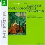 J.S. Bach: 3 Sonatas for Cello & Harpsichord