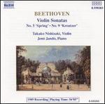 "Beethoven: Violin Sonatas #5&9-""Spring"" & ""Kreutzer"""
