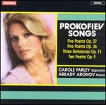 Prokofiev Songs