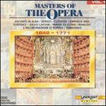 Masters of the Opera, Vol. 1, 1642-1771