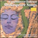 Castelnuovo-Tedesco: Shakespeare Songs [Audio Cd] Anne Victoria Banks; Castel...