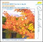 Brahms/Mendelssohn: Piano Quartets