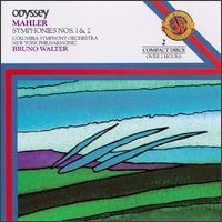 Mahler Symphonies Nos 1 & 2 - Emilia Cundari (soprano); Maureen Forrester (contralto); Westminster Choir (choir, chorus); Bruno Walter (conductor)
