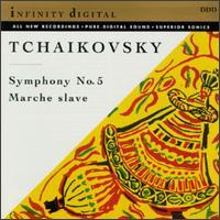 Tchaikovsky: Symphony No. 5; Marche Slave - Georgian Festival Orchestra; Vato Kahi (conductor)