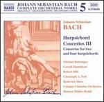 Bach: Harpsichord Concertos 3