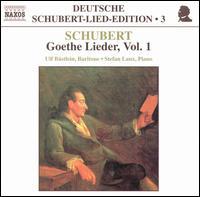 Schubert: Goethe Lieder, Vol. 1 - Stefan Laux (piano); Ulf Bastlein (baritone)