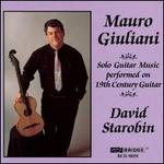 Mauro Giuliani Solo Guitar Music performed on 19th Century Guitar