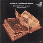 Psaumes et Chansons de la R�forme