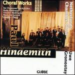 Hindemith: Choral Works