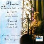 Alexander Borodin: Sonata For Cello & Piano; Ferruccio Busoni: Kultaselle; Kleine Suite