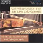C.P.E. Bach: the 3 Cello Concertos