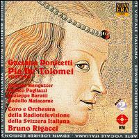 Donizetti: Pia De' Tolomei - Adriano Ferrario (tenor); Franco Ventriglia (bass); Giuseppe Baratti (tenor); Iolanda Meneguzzer (soprano);...