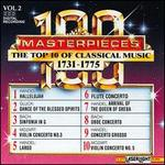 The Top 10 of Classical Music, 1731-1775