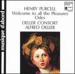 Purcell: Welcome to All the Pleasures; Odes