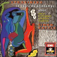 Stravinsky: Apollo; Le Sacre du printemps - Felix Kok (violin); Jeremy Ballard (violin); John Tattersdill (double bass); Peter Cole (viola); Ulrich Heinen (cello);...