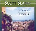 Two Viola Recitals