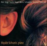 Hayd�e Schvartz, piano