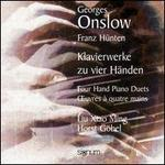 Onslow / H�nten: Four Hand Piano Duets