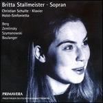 Britta Stallmeister, Soprano