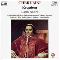 Cherubini: Requiem & Marche fun�bre - Gruppo Vocale Cantemus; Coro della Radio Svizzera (choir, chorus); Orchestra della Svizzera Italiana; Diego Fasolis (conductor)