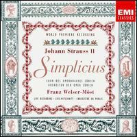 Strauss: Simplicius - Cheyne Davidson (vocals); Elizabeth Magnuson (vocals); Liliana Nichiteanu (vocals); Louis Martini (vocals);...