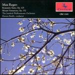 Max Reber: Romantic Suite Op. 125; Mozart Variations Op. 132