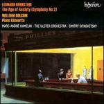"Bernstein: Symphony No. 2 ""The Age of Anxiety""; William Bolcom: Piano Concerto"