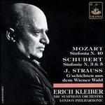 Mozart: Sinfonia No. 40; Schubert: Sinfonie Nos. 3 & 5; J. Strauss: G'schichten aud dem Wiener Wald